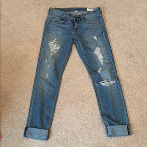 Rag & Bone The Dre Ripped Jeans